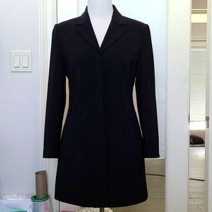 Vien Black Blazer Coat and Skirt